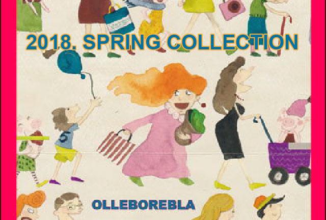 OLLEBOREBLA 2018 Spring Collection
