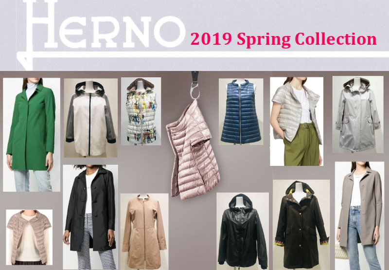 HERNO 2019 Spring Collection
